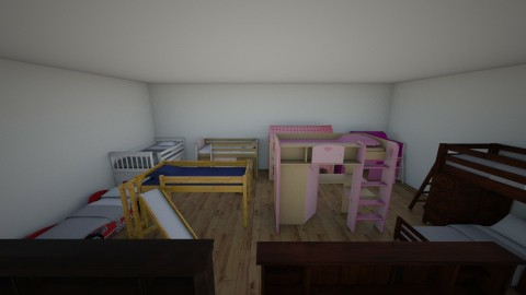 orphanage for both  - Retro - Bedroom - by deleted_1508269637_clemencevilmay