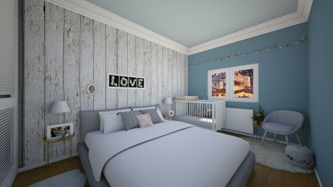 2016_10 - Bedroom - by MarMil25