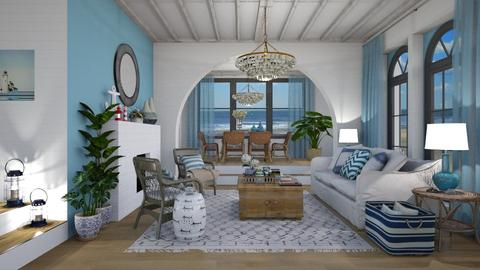 Nautical Living room - Classic - Living room - by VALKHAN