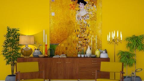 Gold loves Klimt - Classic - Bathroom - by HenkRetro1960