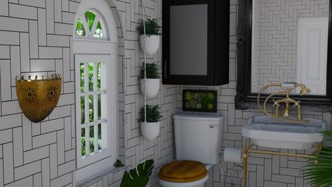 Urban Jungle Bathroom - Bathroom - by laurenpoisner