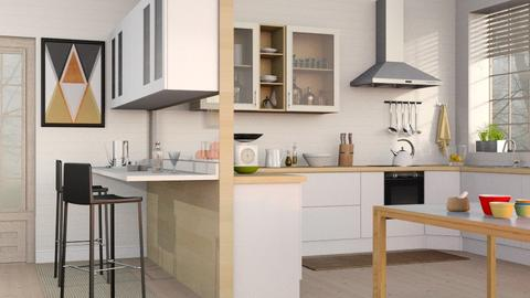 Kitchen with Bar - Kitchen - by Sally Simpson