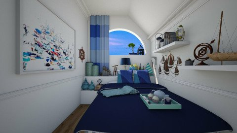 Small Bedroom - Modern - Bedroom - by Joao M Palla