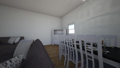 Living Room dining room - Rustic - Living room - by 24steinforta