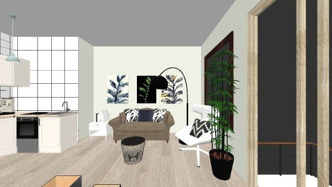 Geppetto Design - Living room - by Rebeka Kri