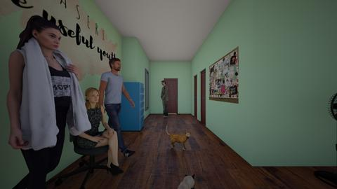sekre - Living room - by sasasaaaw