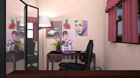 Bedroom in Pink - Feminine - Bedroom - by housekeeper17
