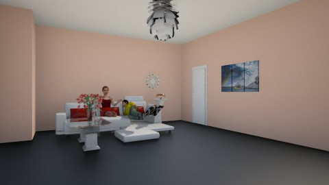 selen  - Living room - by Selen Demir