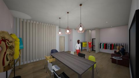 Fashion designer studio - Office - by AfroditeGoldie