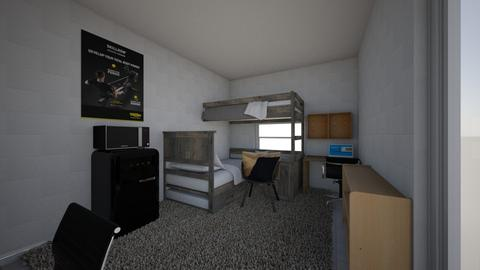 dorm room - Bedroom - by Jacob Barclay