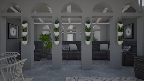 Grey Tones - Living room - by millerfam