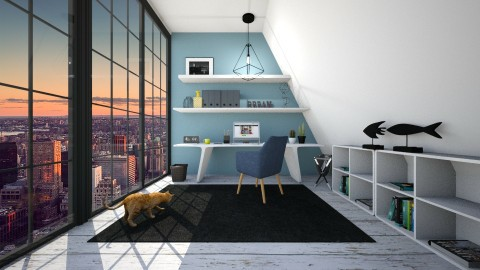 Office - Minimal - Office - by irug19_