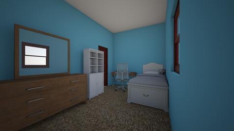 My room plan - Bedroom - by prettyme15