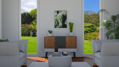 cactus living room - Modern - by Dayanna Vazquez Sanchez