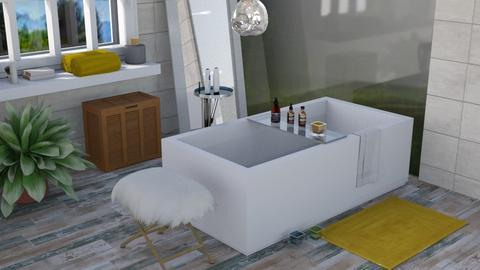 Contest OAK bath - Modern - Bathroom - by augustmoon
