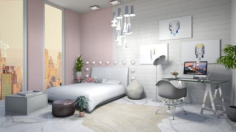 Pink Marble - Bedroom - by the other one