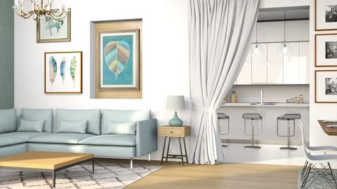 living r - Living room - by its_eima