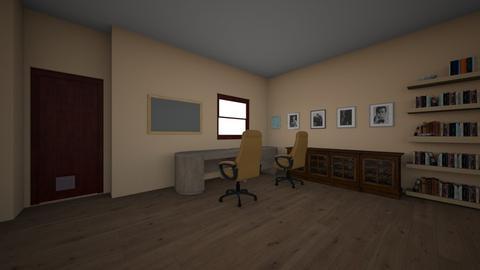 Mind Foyer - Office - by Teacher_Thiago