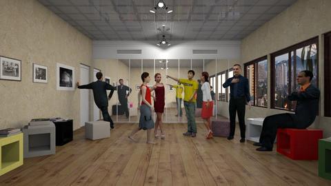 Ensaio na Sala do Espelho - Eclectic - Office - by Mariesse Paim