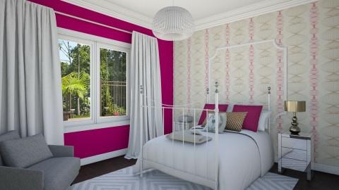 Teen Bedroom 2c - Eclectic - Bedroom - by corbu_cat