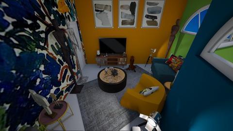 Henry M - Living room - by HeidiNel