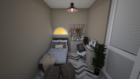 BED NOOK - Rustic - Bedroom - by yamz