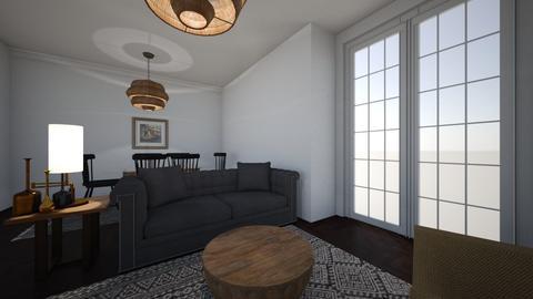 soho flat - Living room - by Sadiesct
