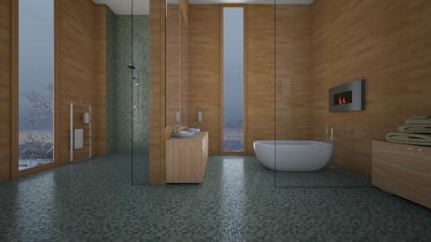 Natural Minimalista - Bathroom - by Sanare Sousa