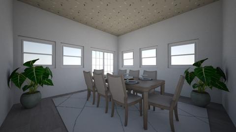 Traditional Dining Room - Dining room - by LoveBugKittyGirl
