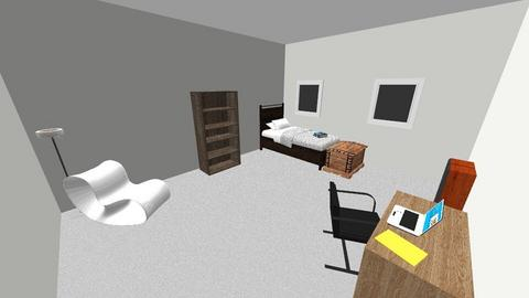 Connors Room - Bedroom - by Spencer Raysin