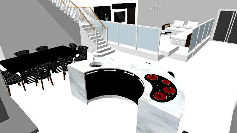 Dream Home - Living room - by Sparkly_Pink_Princess18