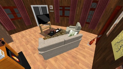 light and dark living - Living room - by anvil kills