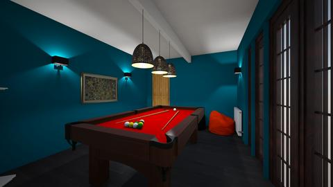 AK Norman Snooker Room - by hwhomedesign