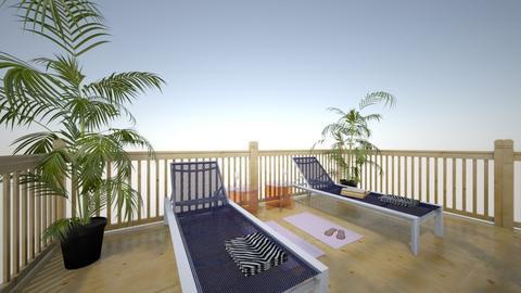 Tropical spa - Garden - by UniverseFloater