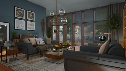 Living Room - by Ania Daliva