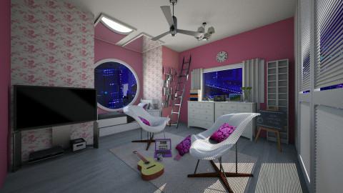 Pink.... - by Kesyieka Qimieka