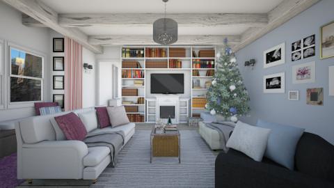 Christmas Living Room - Vintage - Living room - by Bee0196