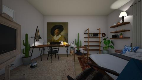 Beeddddrrrommm art space - Bedroom - by nikbee24