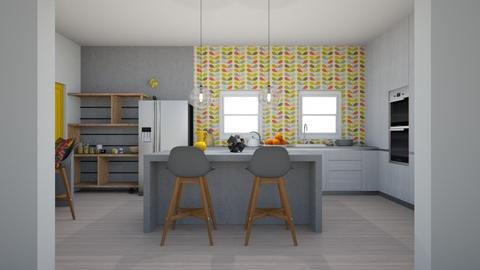 Modern Playful Kitchen - Kitchen - by Asha_Shade