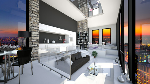 ten four filipino - Modern - Living room - by Senia N