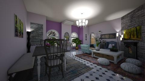 Sweet Retirement - Living room - by mmt_regina_nox