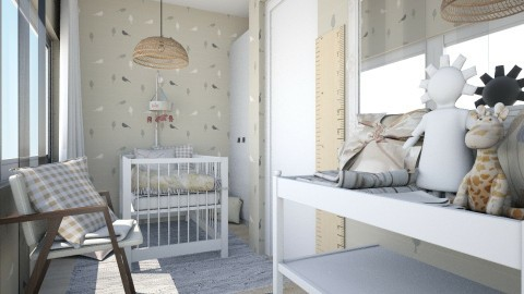 Chania_rev3 - Modern - Kids room - by simiia