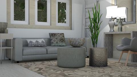 Classic Grey - Modern - Living room - by XiraFizade