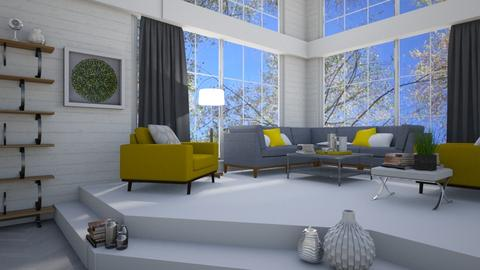 modern banana - Modern - Living room - by megalia42