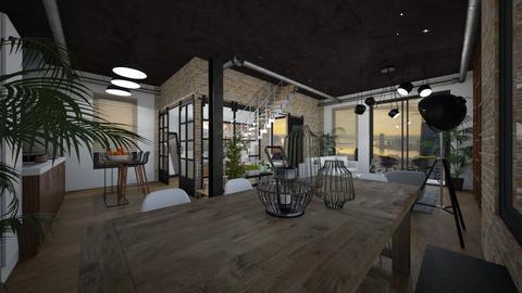 loft1 - Living room - by vch_k