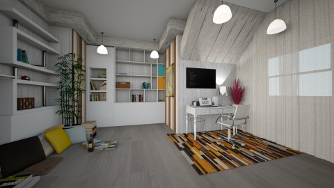 autumn home office 2016 - Country - Office - by leona11