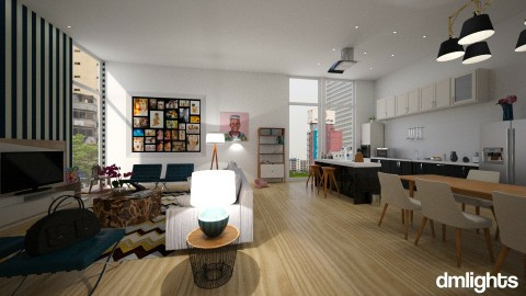 Seul family house - Global - Living room - by DMLights-user-1517373