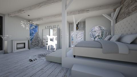 winter bedroom - by agilan