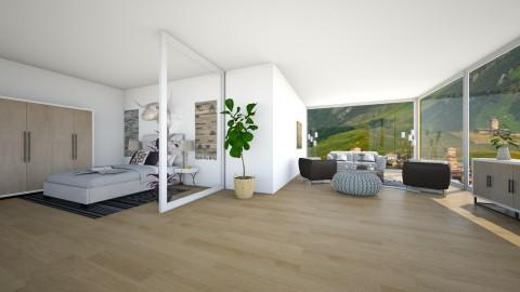 modern suitte - Bedroom - by Lot Parker