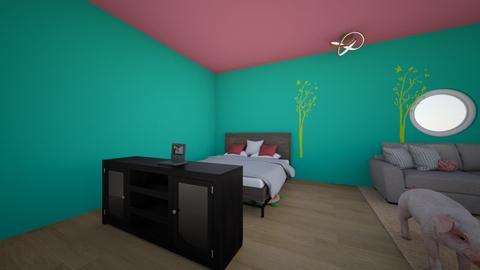 MY room - Bedroom - by maecy_berz